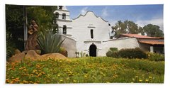 Mission San Diego De Alcala Beach Towel