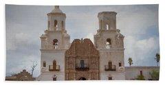 Mission San Xavier Del Bac Beach Sheet