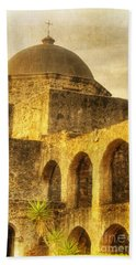 Mission San Jose San Antonio Texas Beach Towel