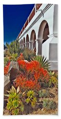 Mission San Luis Rey Garden Beach Sheet