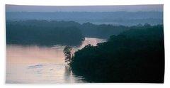 Mississippi River: Bluffs Beach Towel