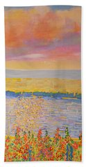 Missouri River Beach Towel