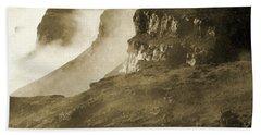 Mist In Lesotho Beach Sheet