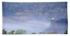 Mist In The Valley Beach Sheet