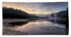 Bass Lake Sunrise - Blue Ridge Parkway Beach Sheet