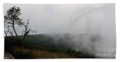Mist On The Mountains Beach Sheet