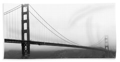 Mist Over Golden Gate Beach Towel