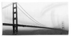 Mist Over Golden Gate Beach Sheet
