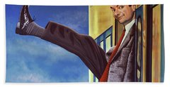 Mister Bean Beach Towel
