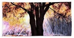 Mists Of Time  Beach Towel