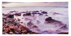 Misty Bay Beach Towel