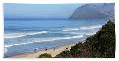 Misty Beach Morning Beach Sheet