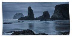 Misty Coast Beach Towel