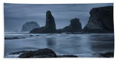 Misty Coast Beach Towel