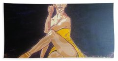 Misty Copeland Beach Towel