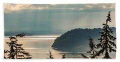 Misty Island Beach Towel