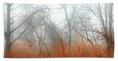 Beach Towel featuring the photograph Misty Morning by Raymond Earley