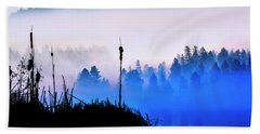 Misty Mountain Hop Beach Sheet
