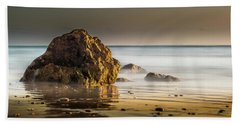 Misty Rock Beach Towel