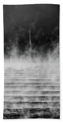 Beach Towel featuring the photograph Misty Twister by Doug Gibbons