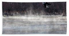 Misty Water Eagle Beach Towel
