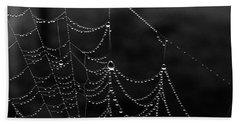 Misty Web Beach Sheet