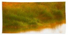 Misty Yellow Hue -lone Jacana Beach Sheet