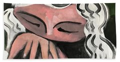 Mmxvii Thoughts  Beach Towel