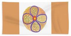 Moasic Flower Beach Sheet