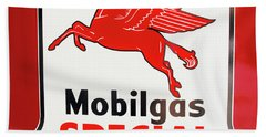 Mobilgas Vintage 82716 Beach Sheet