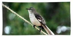 Mockingbird On Rope Beach Sheet