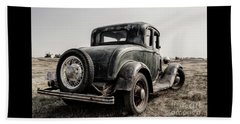 Beach Towel featuring the photograph Model A by Brad Allen Fine Art