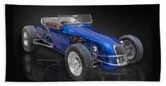 Model T Ford Track Roadster Beach Towel by Gary Warnimont