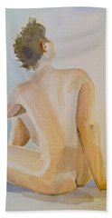 modell akvarell 2013 04 20-21 1 foto 143 Up to 51 x 76 cm Beach Sheet