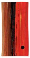 Modern Art - The Power Of One Panel 1 - Sharon Cummings Beach Towel by Sharon Cummings