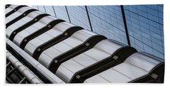 Lloyds Building Bank In London Beach Towel