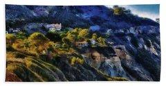 Modern Cliff Dwellers Beach Sheet by Joseph Hollingsworth