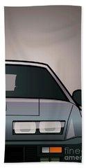 Modern Euro Icons Series Alpine A310 Gt Split Beach Towel