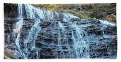 Mohawk Falls 2 - Ricketts Glen Beach Towel