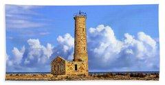 Mohawk Island Lighthouse Beach Sheet