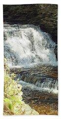 Mohican Falls 5 - Ricketts Glen Beach Towel