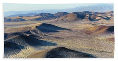 Beach Towel featuring the photograph Mojave Desert by Jim Thompson