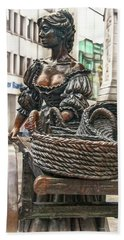 Beach Towel featuring the photograph Molly Malone by Hanny Heim