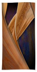 Beach Towel featuring the photograph Molten Wood by Paul Wear