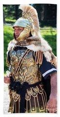 Watchful Roman Legionnary Soldier Beach Sheet
