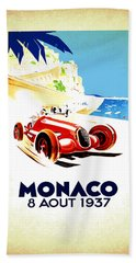 Monaco 1937 Beach Towel
