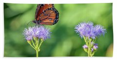 Monarch Butterfly 7476-101017-2cr Beach Towel