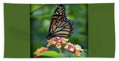 Monarch Butterfly Art II Beach Towel
