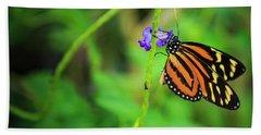 Monarch Butterfly Beach Sheet