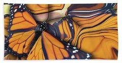 Monarch Flight Beach Towel